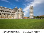 cathedral building with the... | Shutterstock . vector #1066247894
