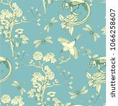 seamless pattern in the... | Shutterstock .eps vector #1066258607