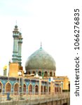 blur in iran  and old antique... | Shutterstock . vector #1066276835