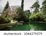 a scene from the park... | Shutterstock . vector #1066279379