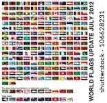 world flags gallery update july ... | Shutterstock . vector #106628231
