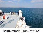 july 17 2016  big car ferry...   Shutterstock . vector #1066294265
