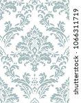 beautiful damask pattern. royal ... | Shutterstock . vector #1066311719