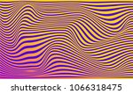 illusion of stripes  background ... | Shutterstock .eps vector #1066318475