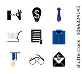 icon shopping tools with man... | Shutterstock .eps vector #1066324145