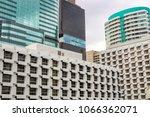 four buildings adjacent | Shutterstock . vector #1066362071