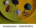 chili peppers  white... | Shutterstock . vector #1066363841