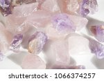 Several Pieces Of Raw Amethyst...