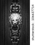 Doorknocker Like Lion Head ...