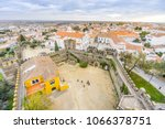 cityscape with castel and... | Shutterstock . vector #1066378751