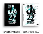 jazz music poster design... | Shutterstock .eps vector #1066401467