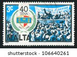 Malta   Circa 1983  A Stamp...