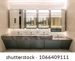 toilets in shopping malls | Shutterstock . vector #1066409111