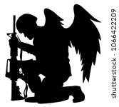 Military Angel Soldier With...