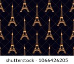 art deco seamless pattern with... | Shutterstock .eps vector #1066426205