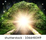 way to another world  abstract... | Shutterstock . vector #106648349