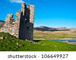 Detail Of Ardvreck Castle At...