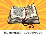 ancient book  religion  fairy... | Shutterstock .eps vector #1066499399