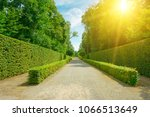 bright summer sun illuminates... | Shutterstock . vector #1066513649