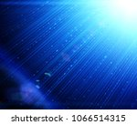 abstract flash light on a dark... | Shutterstock . vector #1066514315