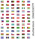 world countries flags... | Shutterstock .eps vector #1066526579