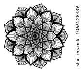 mandalas for coloring book.... | Shutterstock .eps vector #1066528439