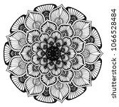 mandalas for coloring book....   Shutterstock .eps vector #1066528484