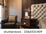 interior of a luxury hotel... | Shutterstock . vector #1066531409