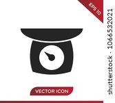 balance vector icon | Shutterstock .eps vector #1066532021