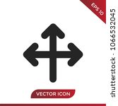 three directions icon | Shutterstock .eps vector #1066532045