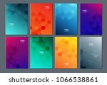 technology or modern abstract... | Shutterstock .eps vector #1066538861