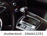 car for rent. black elegance... | Shutterstock . vector #1066611251