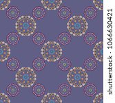 arabesque vector ornament.... | Shutterstock .eps vector #1066630421
