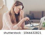 laptop computer modern... | Shutterstock . vector #1066632821