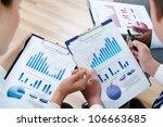 image of human hands during... | Shutterstock . vector #106663685