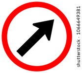 go to the right by the arrow... | Shutterstock .eps vector #1066649381