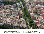 aerial view of typical parisian ... | Shutterstock . vector #1066665917