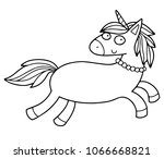 cute illustration of the... | Shutterstock .eps vector #1066668821