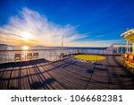 outdoor view of empy area over... | Shutterstock . vector #1066682381