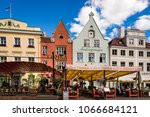 tallinn  estonia   aug 09 2017  ... | Shutterstock . vector #1066684121