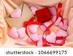 valentines day background with...   Shutterstock . vector #1066699175