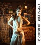 young elegant seductive woman...   Shutterstock . vector #1066701635