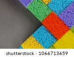 cleaning day concept  colorful... | Shutterstock . vector #1066713659