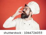 professional chef man showing... | Shutterstock . vector #1066726055