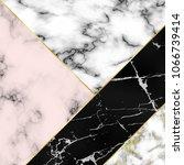 different marble textures...   Shutterstock .eps vector #1066739414