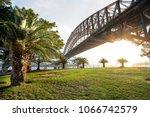 sydney harbour bridge   Shutterstock . vector #1066742579