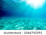 underwater surf swim   Shutterstock . vector #1066742591