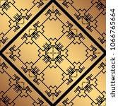 vintage ornamental seamless... | Shutterstock .eps vector #1066765664