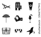 sport approach icons set.... | Shutterstock .eps vector #1066767941