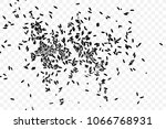 raw white rice explosion.... | Shutterstock .eps vector #1066768931